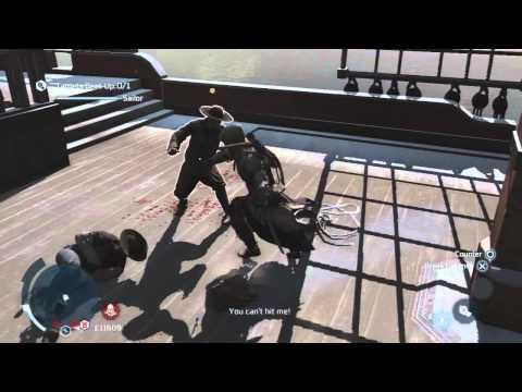 Assassin's Creed 3 - Boston Brawlers challenge - The Sailor [HD]
