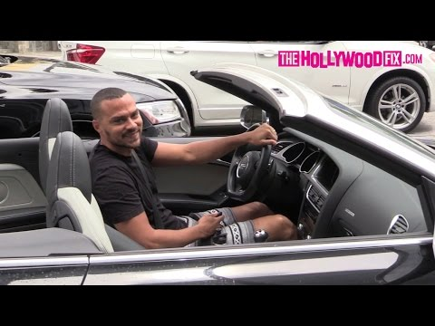Jesse Williams Takes His Audi For A Cruise In Beverly Hills 7.23.15 - TheHollywoodFix.com