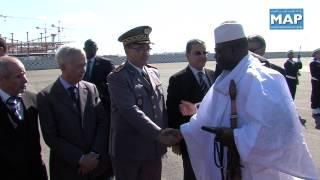 رئيس جمهورية غامبيا يحل بالمغرب في زيارة خاصة