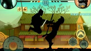 Shadow Fight 2 - Trail of Blood vs Butcher(The 3rd boss in Shadow Fight 2 If you have fight numerous enemy, this boss actually is easier.. Just be careful of his magic - Double Click backwards to avoid ..., 2014-05-19T21:49:54.000Z)