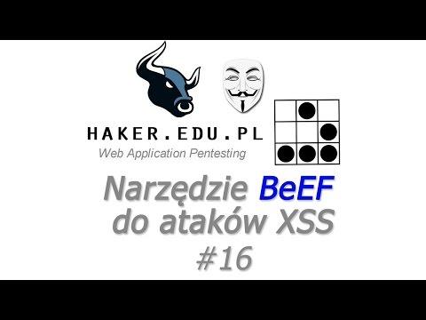 #16 BeEF-XSS w Kali Linux   narzędzie do cross site scripting