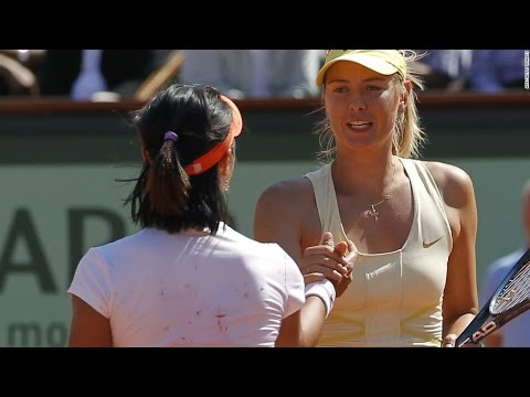 Li Na VS Maria Sharapova 2011 SF(RG Full)