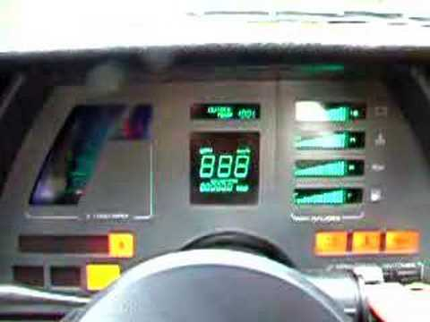1986 Cavalier Z24 Digital Dash