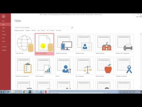 How to learn Microsoft Access 2013 with VBA