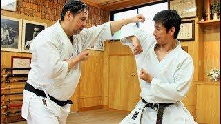Tatsuya Naka (JKA) meets Hironori Otsuka (Wado-ryu), Karate Legends!