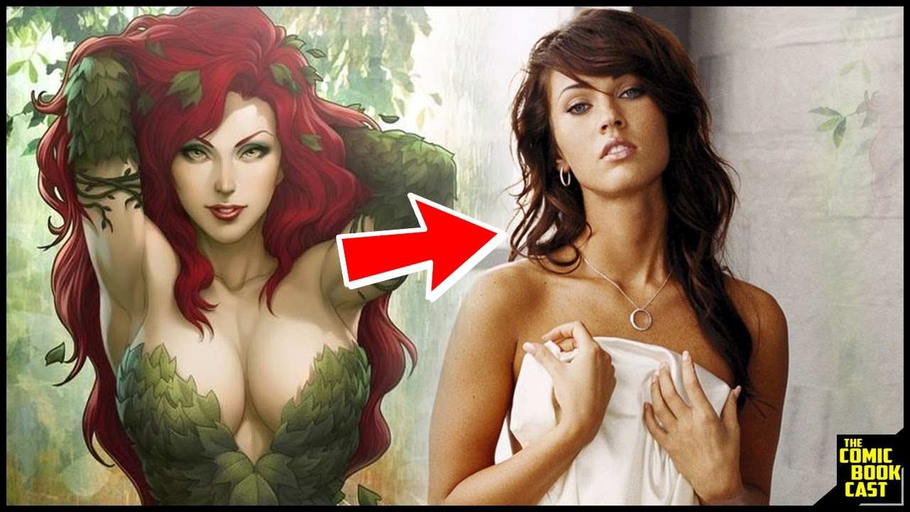 Megan fox as poison ivy in gotham city sirens here how