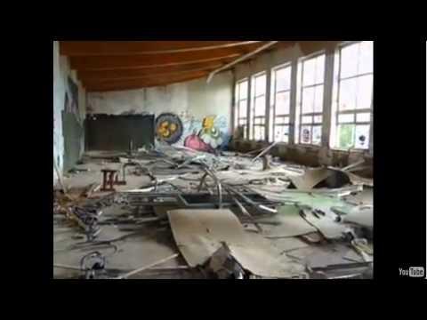 г.Климовск Московская область - школа №7 (Заброшенная).