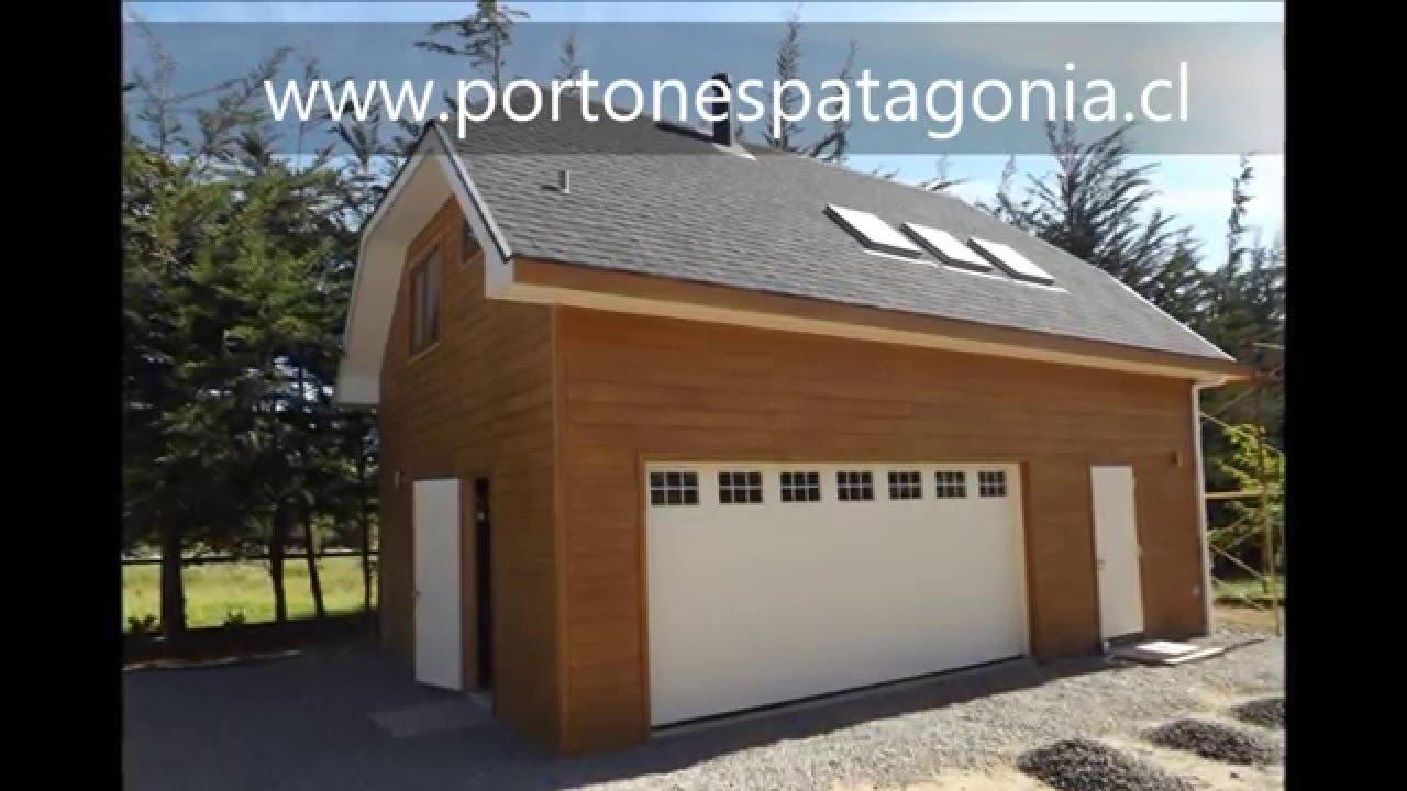 Portones patagonia port n de garaje en chile port n americano en chile - Carpinteria santa clara ...