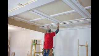 Part 4 of 4 - Gary Striegler wraps up the Panel/ Beam Ceiling with ...