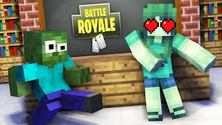 Monster School : GIRLS VS BOYS FORTNITE DANCE CHALLENGE - Minecraft Animation