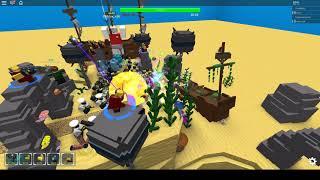 [FROST BOSS] Tower Defense Simulator Beta roblox game(so funny)