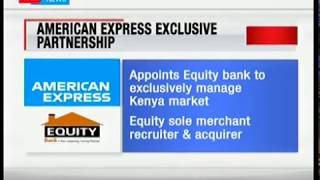 American Express signs deal with Equity Bank Group to facilitate transactions