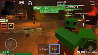 Zombie attack in Roblox noe