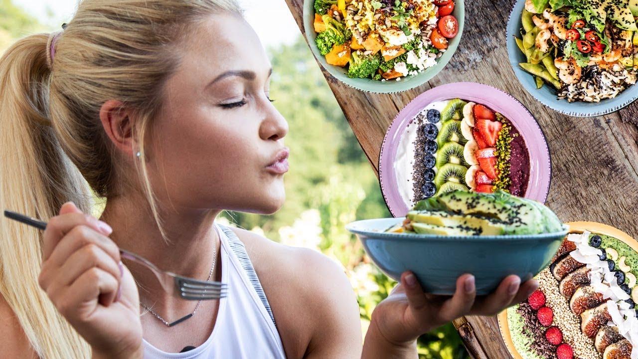 fitness food super bowls zum abnehmen einfache acai smoothie buddha und poke bowl rezepte. Black Bedroom Furniture Sets. Home Design Ideas