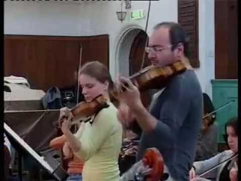 Julia Fischer and Gordan Nikolic record Mozart K364  part1