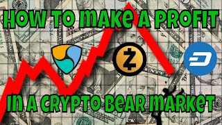 How to make profit in a cryptocurrency bear market - Arbitrage