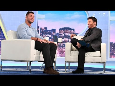 Tim Tebow Shares John 3:16 Story