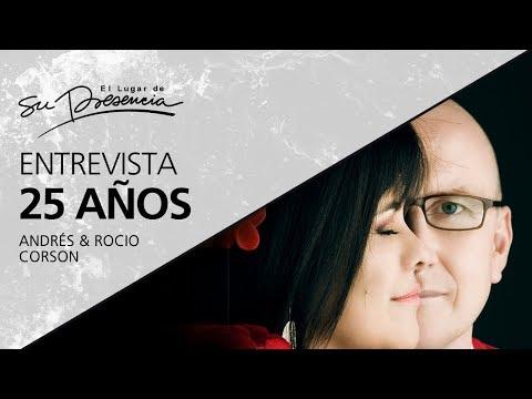 Entrevista 25 Años - Andrés & Rocío Corson - 17 Enero 2018