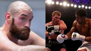 TYSON FURY REACTS TO ANTHONY JOSHUA STOPPING ALEXANDER POVETKIN