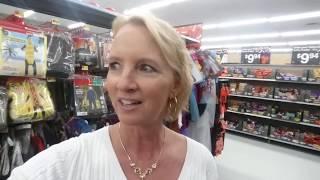 SouthernASMR Sounds ~ Walmart Halloween Walk-Through