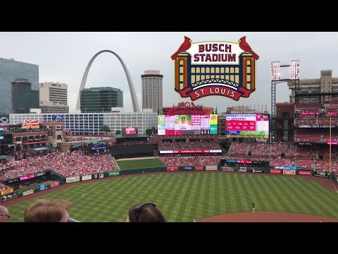 Busch Stadium (St Louis Cardinals) Tour & Review With The Legend