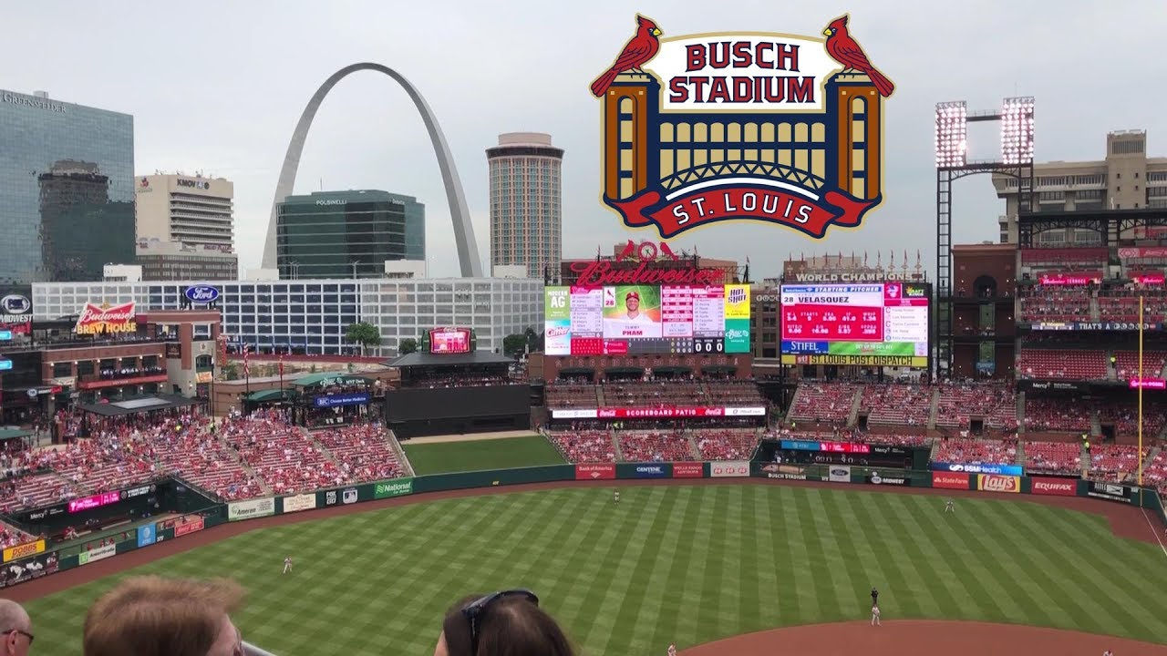 Busch Stadium (St Louis Cardinals) Tour & Review with The Legend - YouTube
