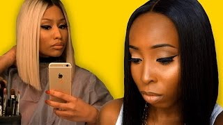 Nicki Minaj Transformation Makeup Tutorial And Hair Tutorial