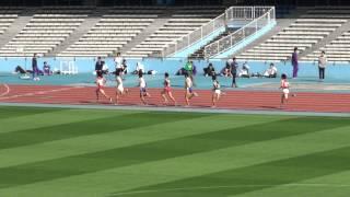 第10回かわさき陸上競技フェスティバル 招待男子1500m(2011/10/29)