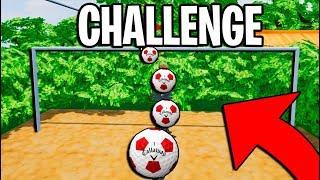 CHALLENGE DE FUTBOL en Golf it