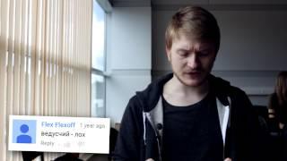 Данила Поперечный читает злые комменты про себя