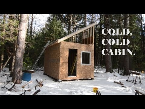 Can I Beat The Winter? Cabin Building On A Budget
