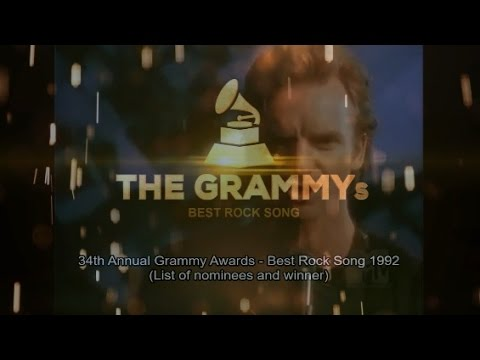 BEST ROCK SONG | 34th GRAMMYs 1992 🏆...