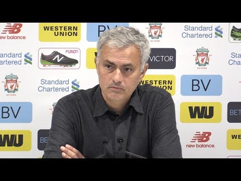 Liverpool 0-0 Manchester United - Jose Mourinho Full Post Match Press Conference - Premier League