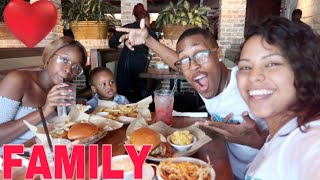 TOOK MY FAMILY ON A SHOPPING SPREE