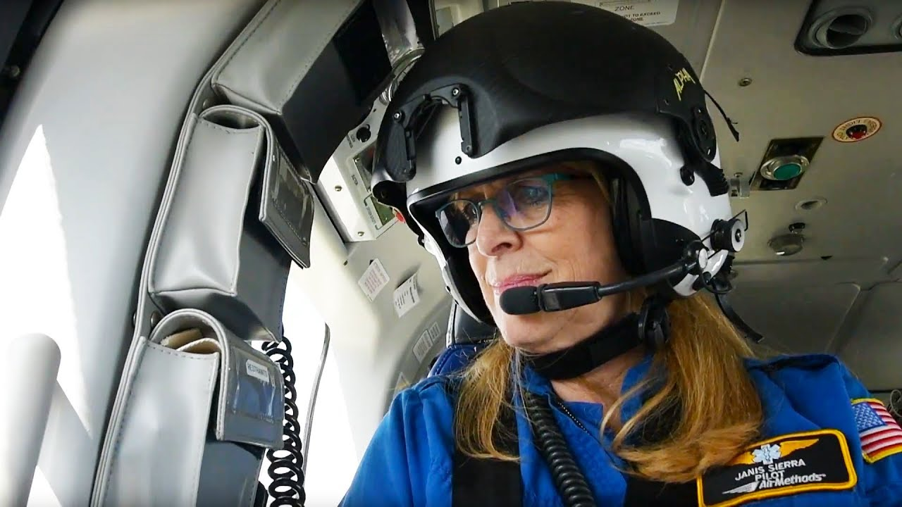 First female pilot for Flight For Life