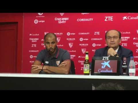 Primeras palabras de Guido Pizarro como futbolista del Sevilla