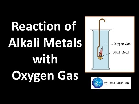 Group 1 Metal - Reaction with Oxygen Gas Periodic Table - YouTube - new periodic table for alkali metals