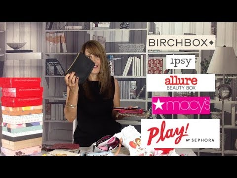 Beauty Subscription Boxes & Glam Bag Unboxings I October