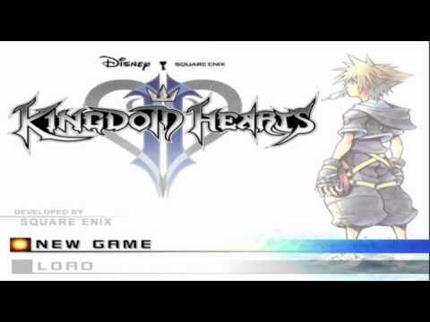 Kingdom Hearts II- Title Screen