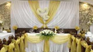 Свадебное оформление зала от студия свадеб и торжеств Tango