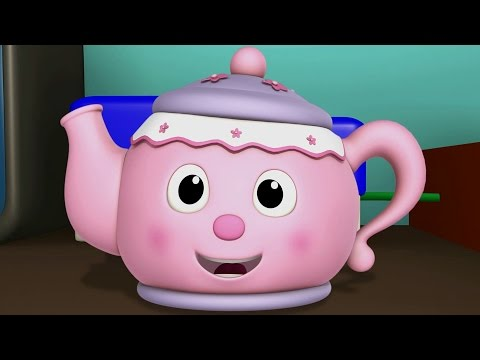 I Am A Little Teapot | Nursery Rhymes And...