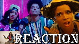 Aunt T Jackie  REACTION to BRUNO MARS FT. CARDI B - FINESSE (REMIX)