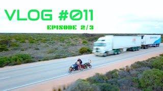 vLOG #011 Crossing the Nullarbor    (Episode2/3) Australia
