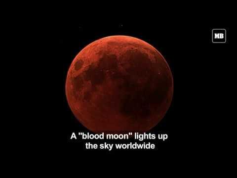 """Blood moon"" as seen from NASA's telescope"