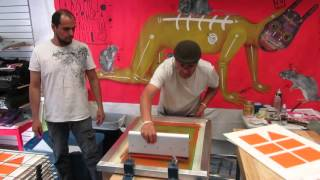 Maestro Negrete at Proper Printshop