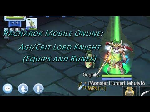Ragnarok Online Mobile - AgiCrit LK (How I Increase My Attack)