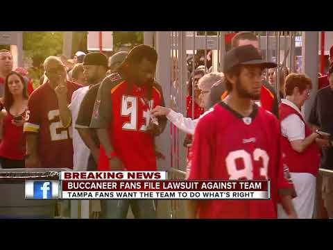 Exclusive: Class action lawsuit filed against Tampa Bay Buccaneers for revoking fans' season tickets