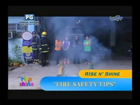 Fire safety tips demo