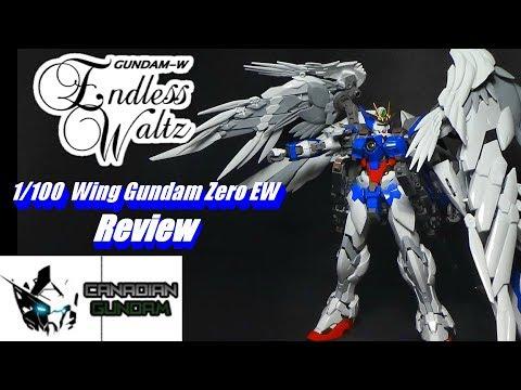 1/100 High Resolution Wing Gundam Zero EW Review
