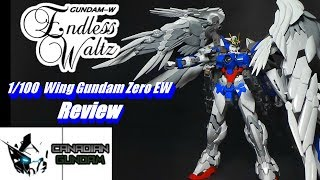 1/100 High Resolution Wing Gundam Zero EW Review